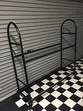 Tyre & wheel rack with lockable wheels fits 12 tyres Newport Hobsons Bay Area Preview