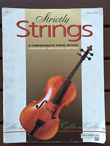 Strictly Strings - Cello /Book 1 Glandore Marion Area Preview