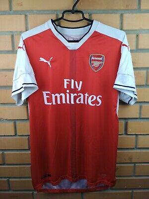 da47694ed96 Arsenal jersey large 2016 2017 home shirt soccer football Puma