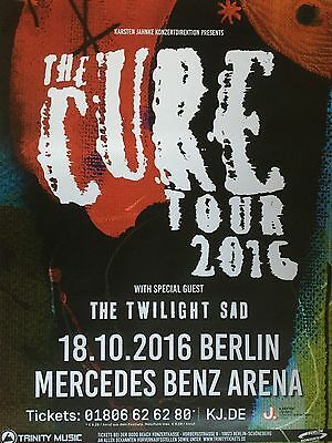 THE CURE   18.10.2016  BERLIN   --  Tour Poster    --   84 x 59 cm