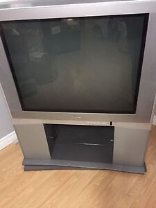 36' TV with stand