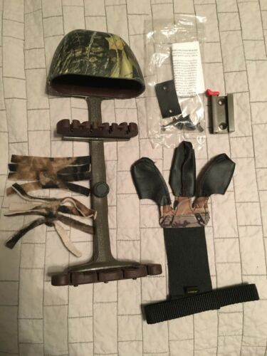 Vintage KWIKEE KWIVER Camo Hunting Archery Compound Bow Quiver w/Mount LOT MORE