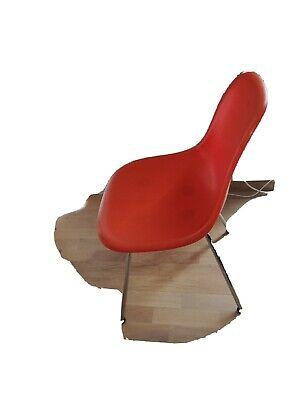 Vitra Eames Fiberlass Sidechair DSX, orangerot Gestell Chrom, Neu, NP 525€ segunda mano  Embacar hacia Spain