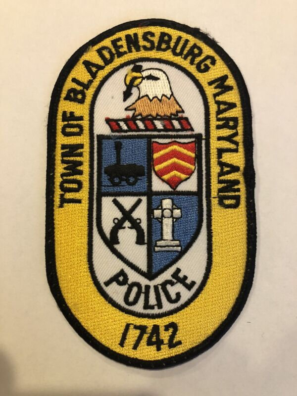 Bladensburg Maryland Police Patch ~ New Condition