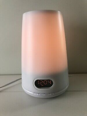 Philips HF3470 Light Alarm Clock Radio Natural Sunrise Light Therapy