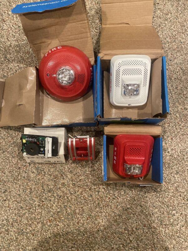 System Sensor And Edwards/EST Fire Alarm Lot