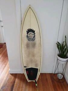 5'8 Santa Cruise Fish Tail Surfboard