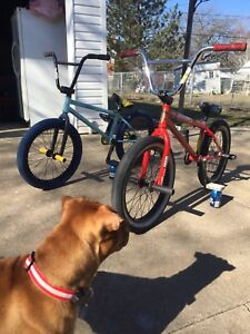Selling red bmx