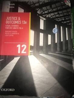 VCE legal studies unit 3&4 text book