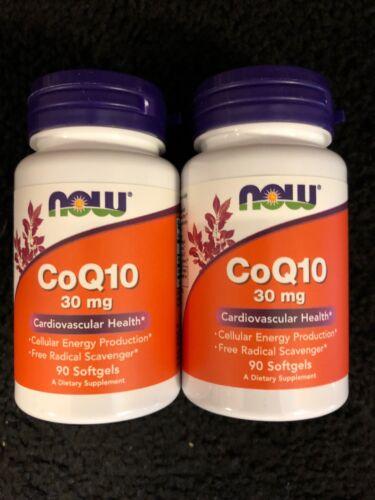 NOW Foods CoQ10 30mg., 90 Softgels