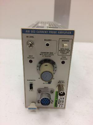 Tektronix Am 503 Current Probe Amplifier
