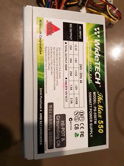 550 Watt Power Supply Unit