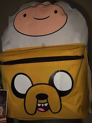 Adventure Time Finn And Jake Suit Up BMO Case Hooded School Backpack Bag Costume - Jake Adventure Time Costume