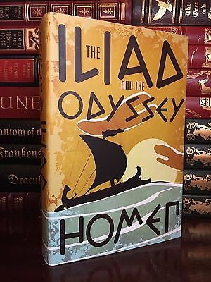 The Iliad and the Odyssey by Homer Brand New Hardcover Edition Book