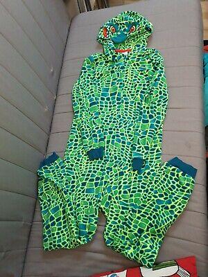 Anzug Kinder, Schlafen, Winter, Krokodil, Gr. 12 Jahre