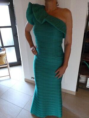 Abendkleid, grün, one shoulder, Spanisches Design - Spanisch Kleid