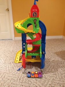 Fisher Price sit and stand skyway playset
