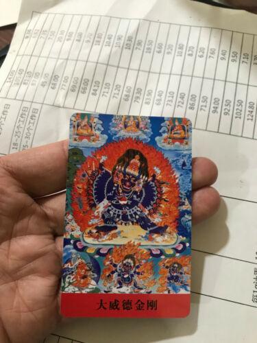 chinese hand made tangka card g009 hh