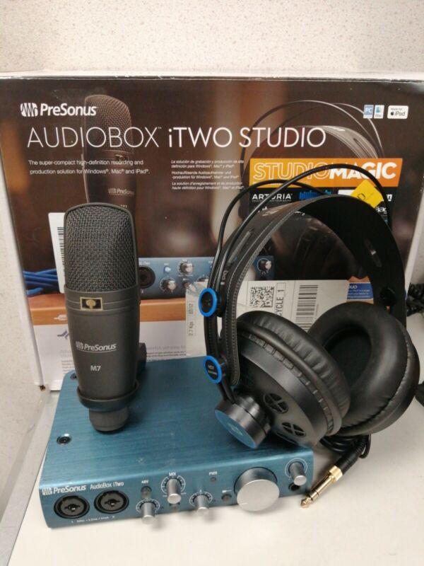 PreSonus AudioBox iTwo 2x2 USB iPad Audio Interface