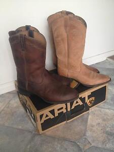 ARIAT mens and womans riding boots Singleton Heights Singleton Area Preview