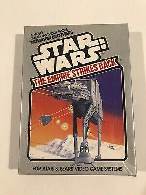 Atari 2600 Star Wars Empire Strikes Back Game Parker Brothers