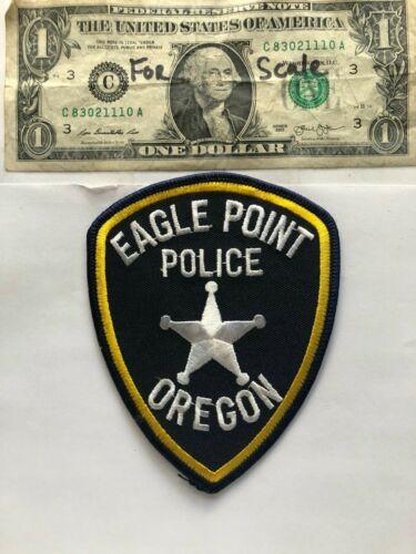 Rare Eagle Point Oregon Police Patch un-sewn great condition