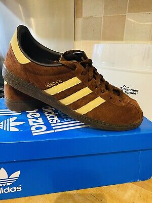 Adidas Munchen SPZL Trainers Size 10 - Brown - Mint Condition