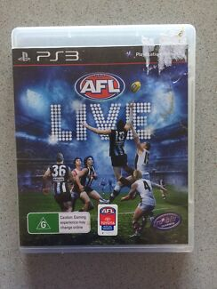 Wanted: PS3 AFL live game