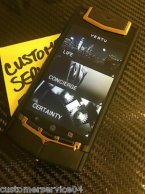 Genuine Vertu Android Black PVD with 18K Rose Gold Super Rare A gotta have!