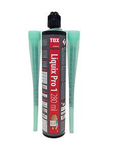 Verbundmörtel Tox Injektionsmörtel Liquix Pro 1 280 Mörtel Klebemörtel 280ml