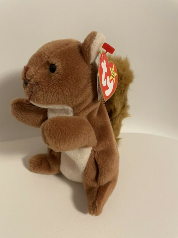 Nuts Squirrel Beanie Baby Ty