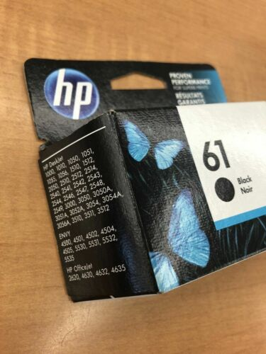 HP 61 (CH561WN#140) Black Ink Cartridge