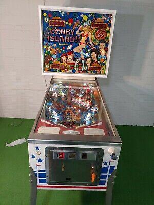Coney Island pinball machine