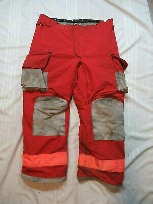 Lion Janesville 44xl Firefighter Turnout Bunker Gear Pants Rescue Tow