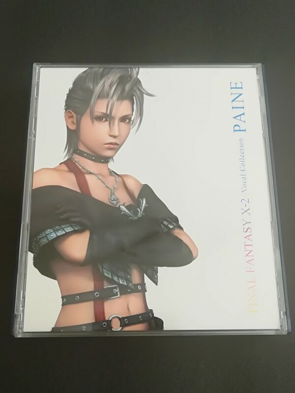 Final Fantasy X-2 Vocal Collection PAINE Japan. With Dvd Region 2