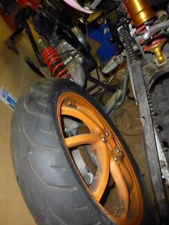 """nsr 150 swingarm will swap for 20"""" tricycle or trike conversion Port Macquarie 2444 Port Macquarie City Preview"""