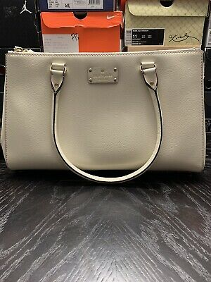 Kate Spade Off White Large Tote Bag Purse