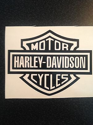 "HARLEY DAVIDSON MOTORCYCLE STICKER DECAL 5"" X 4"""