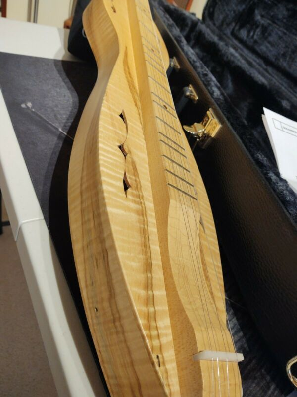 Lap Dulcimer by JR With Case SUPER NICE!