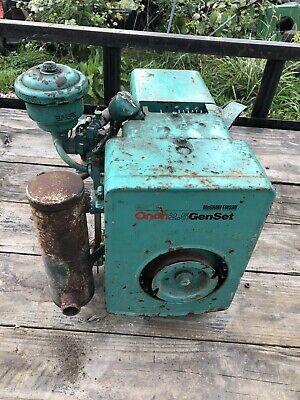 Vintage Onan Gas Engine Motor Generator Good Original Condition Illinois Pickup