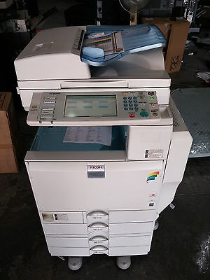 Ricoh Mpc2500 Color Copier Printer Scanner