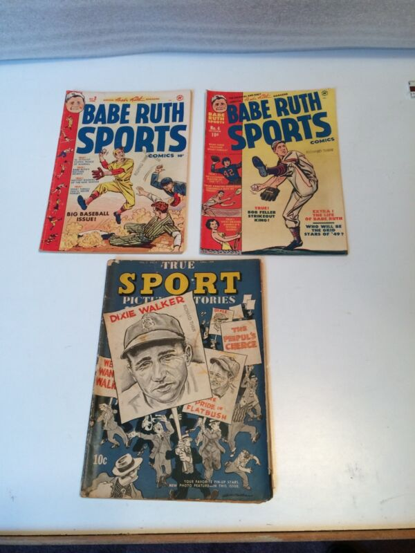 Golden Age Baseball Comics