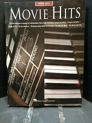 100 Movie Songs for Piano Solo Sheet Music Piano Solo SongBook NEW 000102804