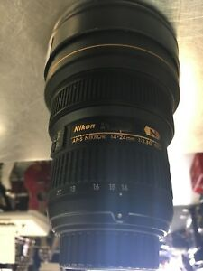 Nikon Nano crystal coat swm ed if aspherical Lens