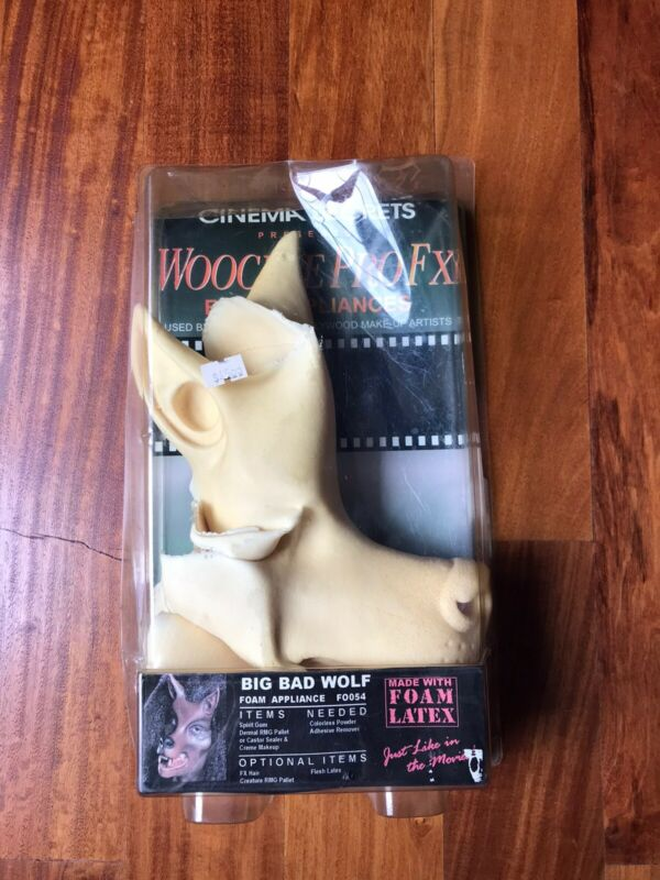 New in PKG. Woochie Pro Fx Cinema Secrets Big Bad Wolf Costume Accessory FO054