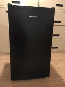 Hisense compact refrigerator with freezer, used for 3 months