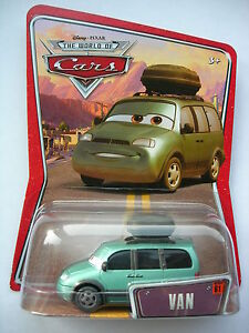 Disney Pixar Cars  VAN  Very Rare UK !!