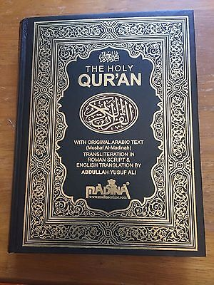 THE HOLY QURAN, Original Arabic text, English translation by  Abdullah Yusuf Ali
