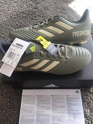 ADIDAS Performance Mens Predator 19.4 FxG Football Boots Green BNIB UK 9 £14.99
