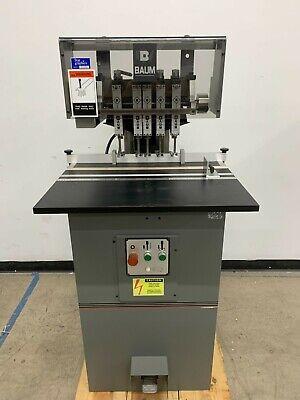 Baum Nd5c-s-2 5-head Hydraulic Paper Drill